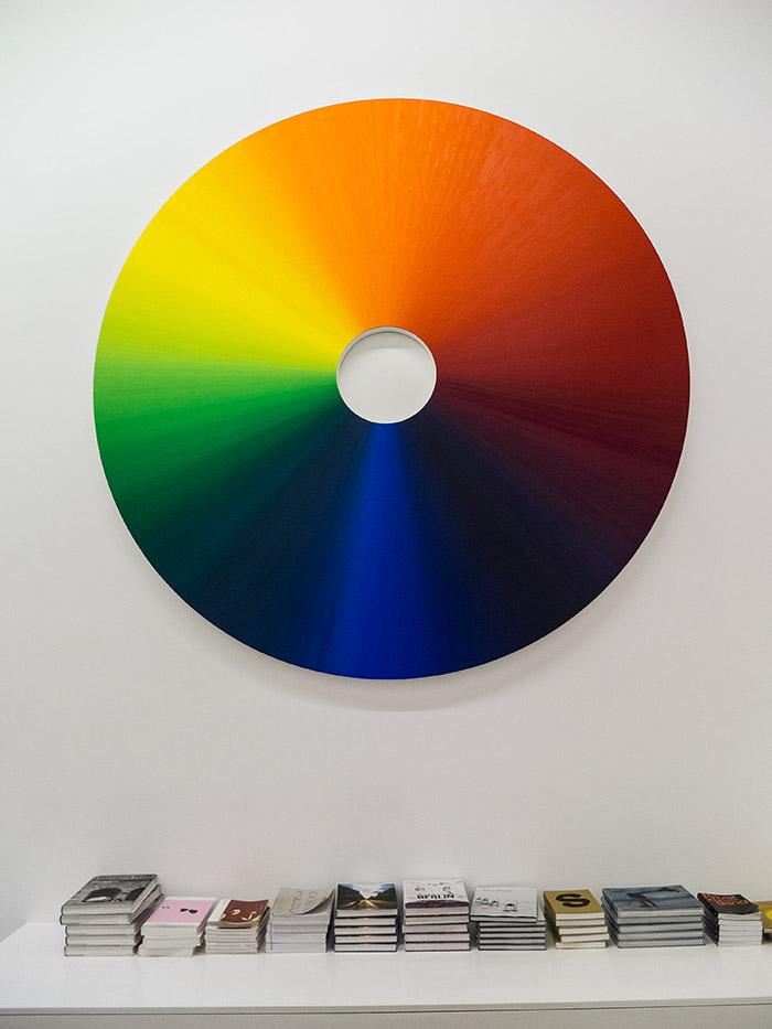 Färgcirkel av Olafur Eliasson