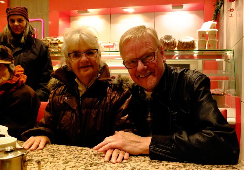 Marion och Peter