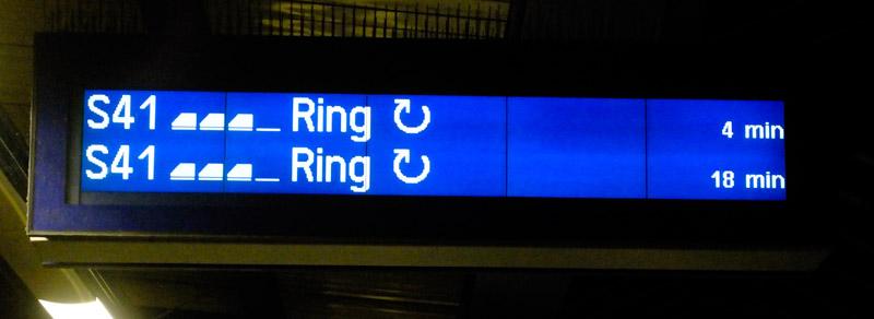 Sen blir det hem med ringen. Medsols!