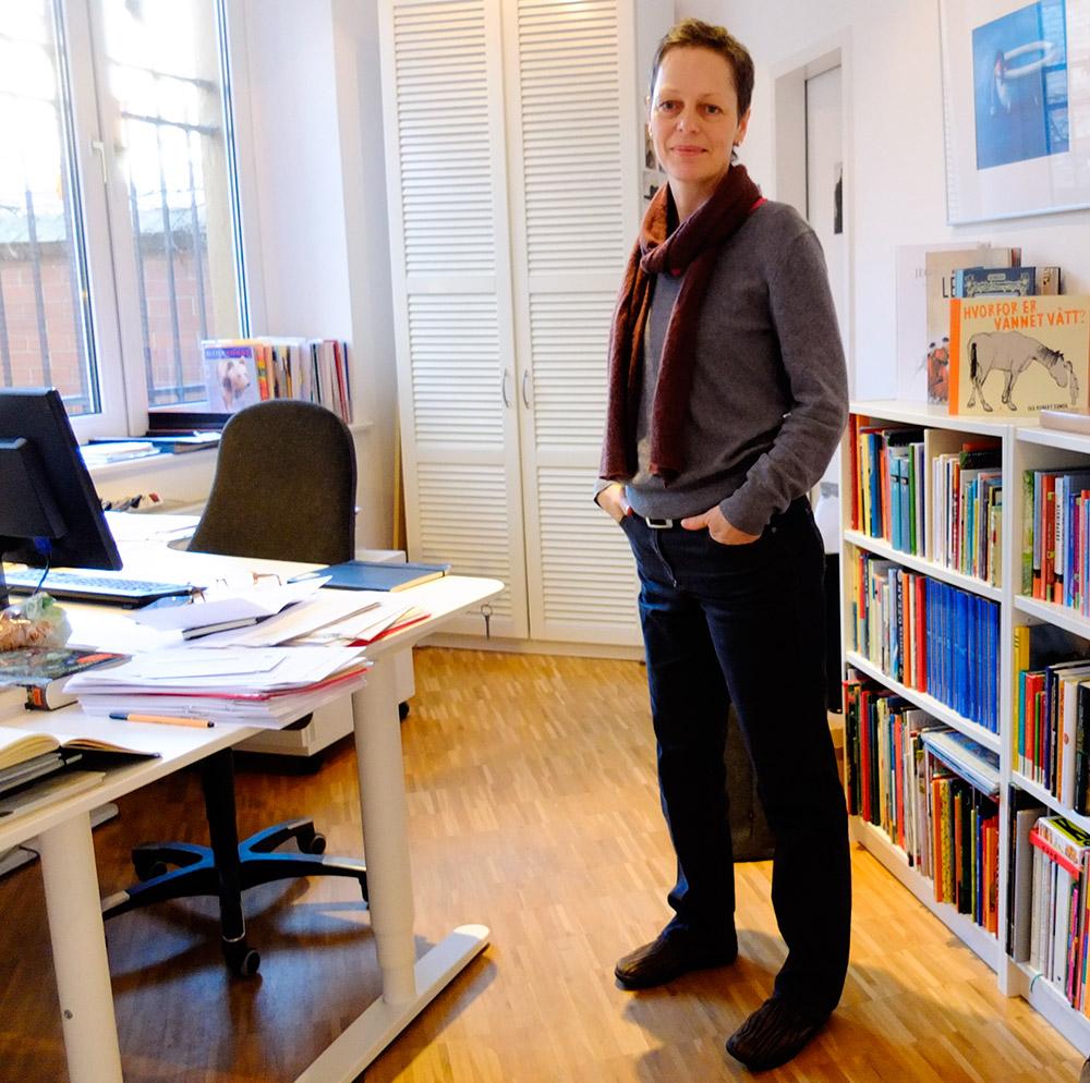 Ulrike Nickel, ordförande i Kulturkind.